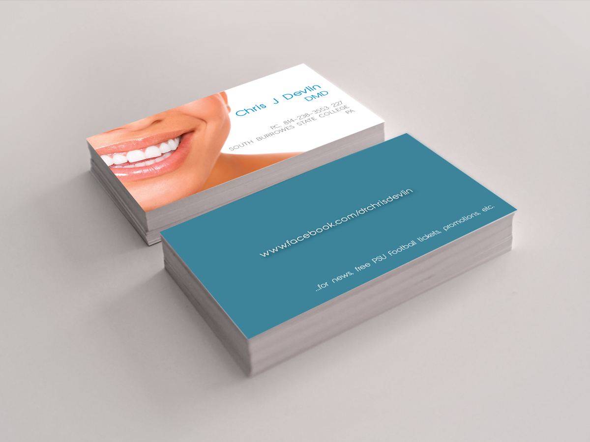 24 Business Card Designs | Dental Business Card Design Project for a ...