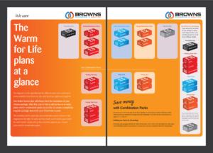 Broschüre Design - Individuelle Broschüre Kreativleistung