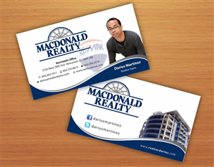 Real Estate Business Card Design 674710
