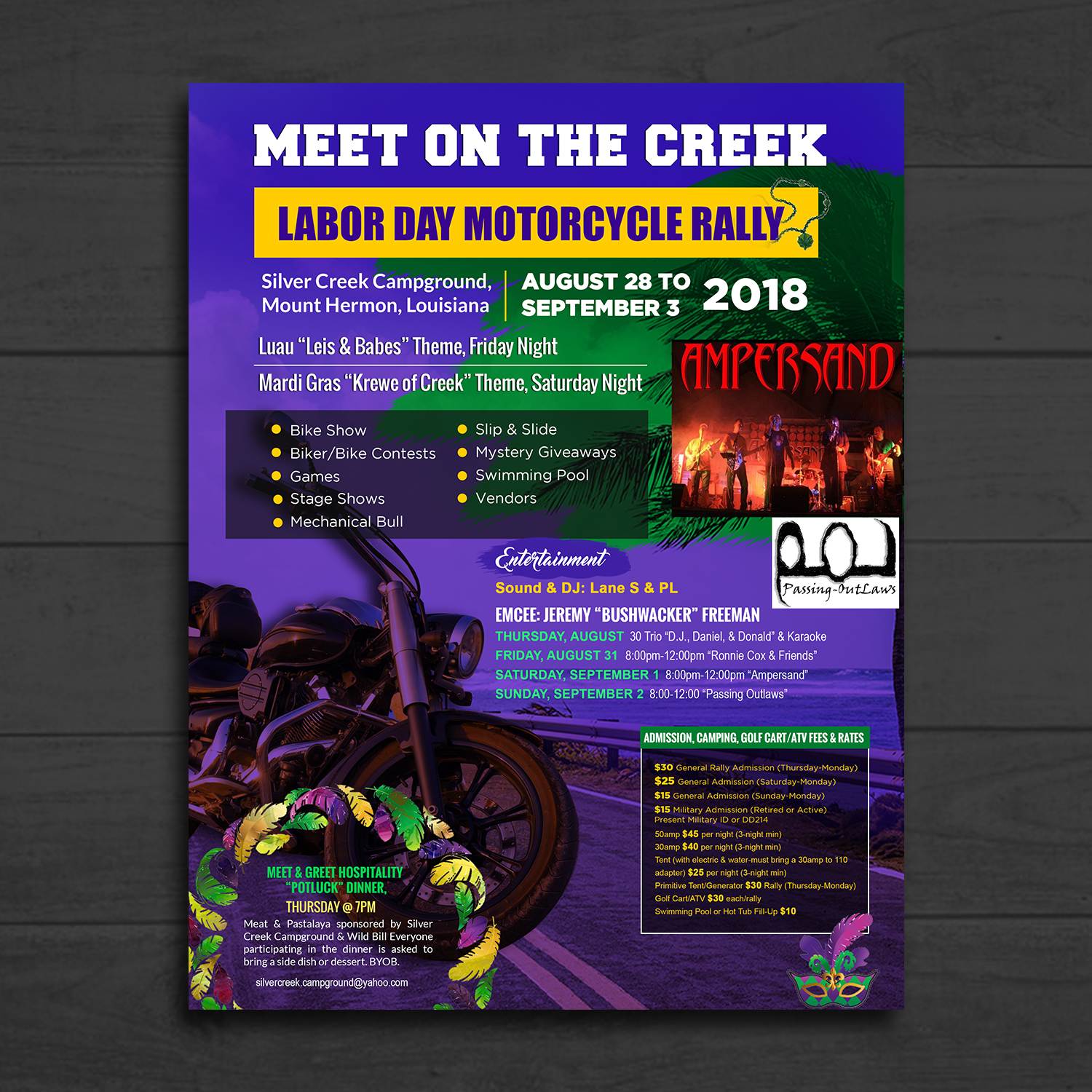 meet and greet flyer examples