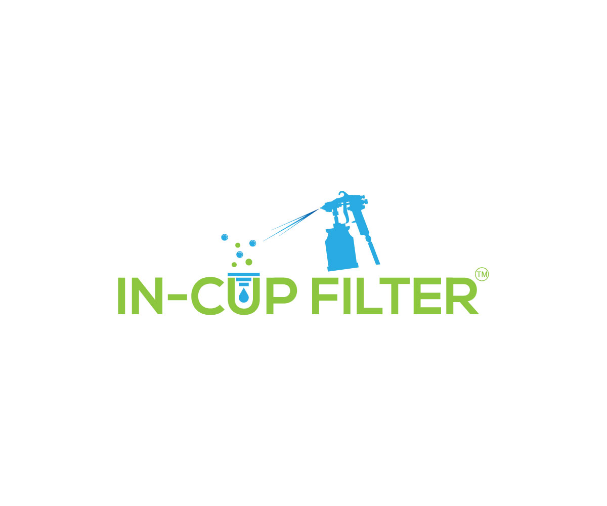 Elegant playful logo design for in cup filter with trademark logo design by gross for this project design 19384585 stopboris Choice Image
