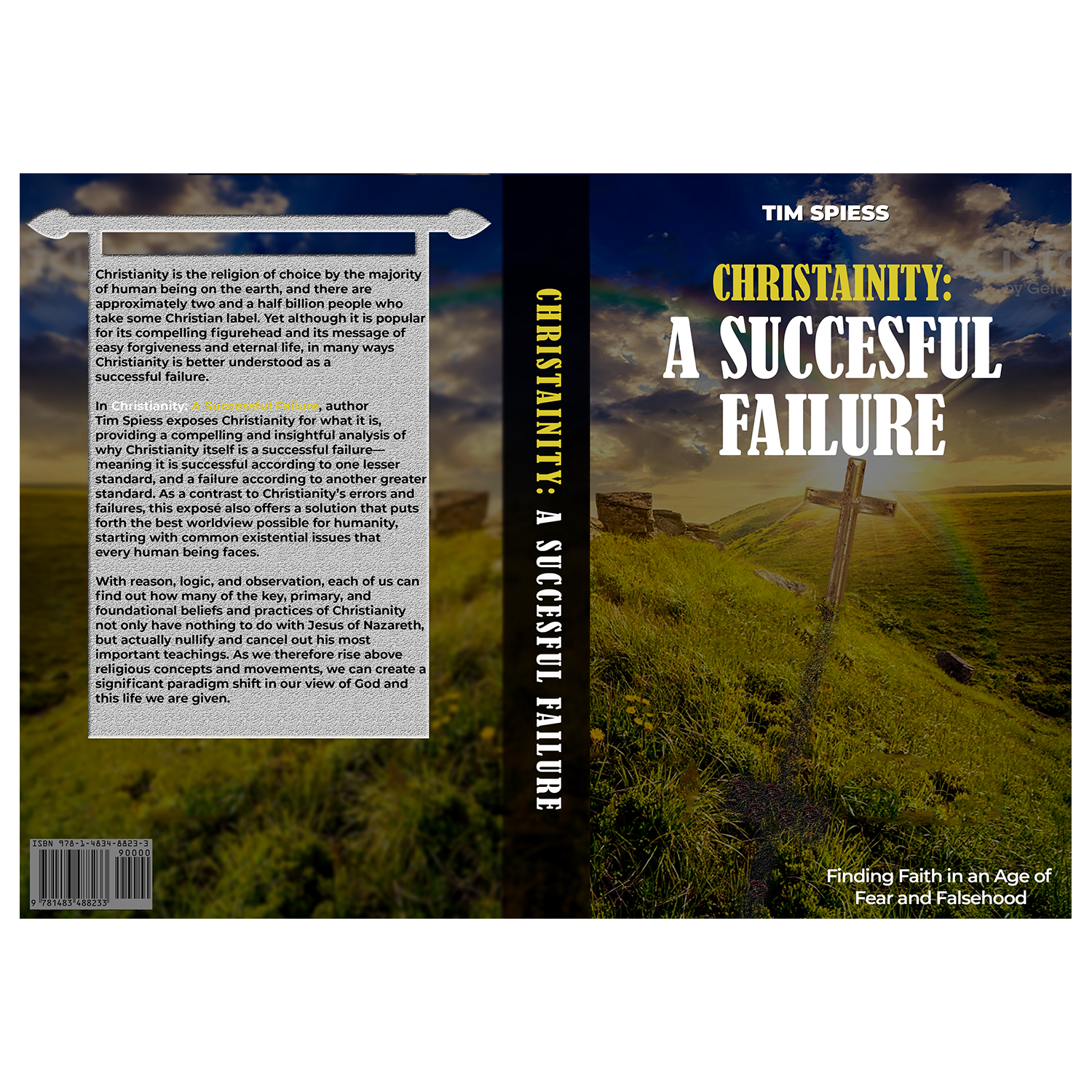 Serious Upmarket Religious Book Cover Design For A Company By Veebc Design 19284383