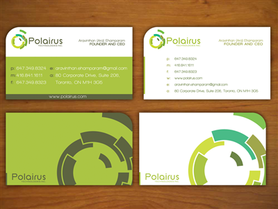 Business Card Design by k.a.d.a. designs