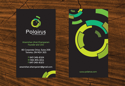 Business Card Design by M.U. Designs