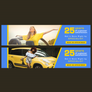 Banner Ad Design by workshekhar755