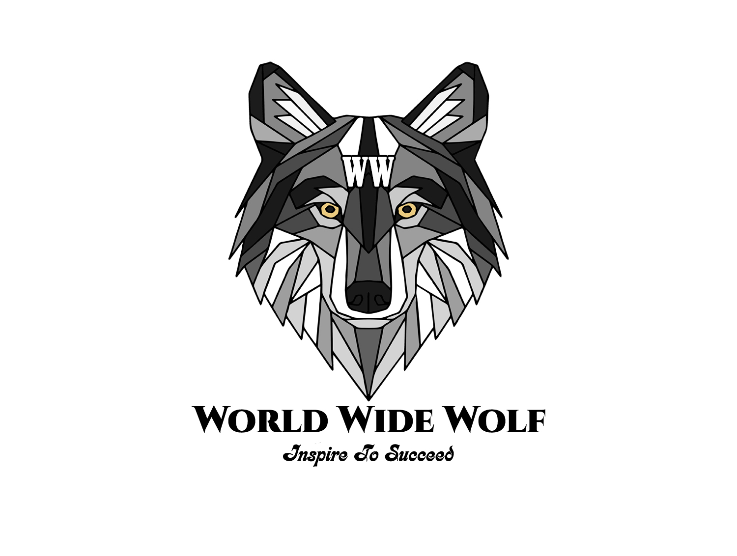 World Wide Wolf Logo by Ted Brown