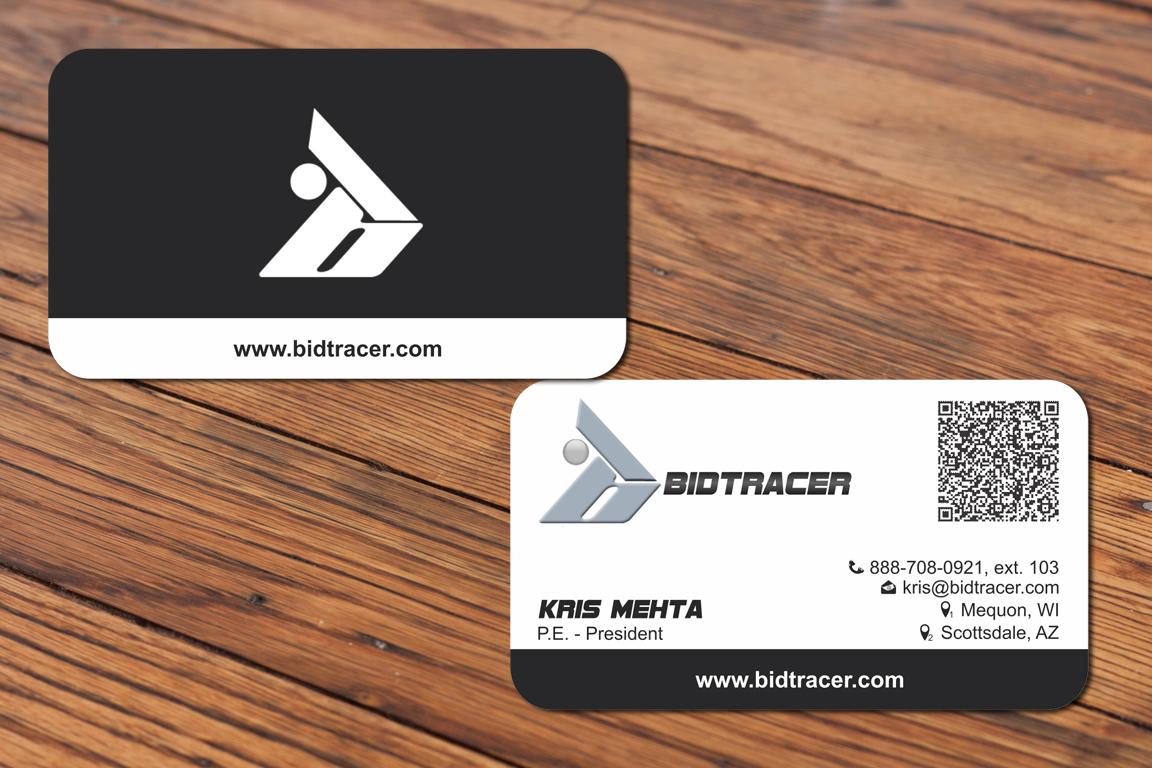 Modern, Professional Business Card Design for Kris Mehta by Mackleon ...