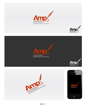 Logo Design job – Logo Design - Music event organizer - Amp – Winning design by bambastudio