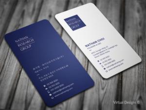 Business card design custom business card design service business card design by virtual designs reheart Gallery