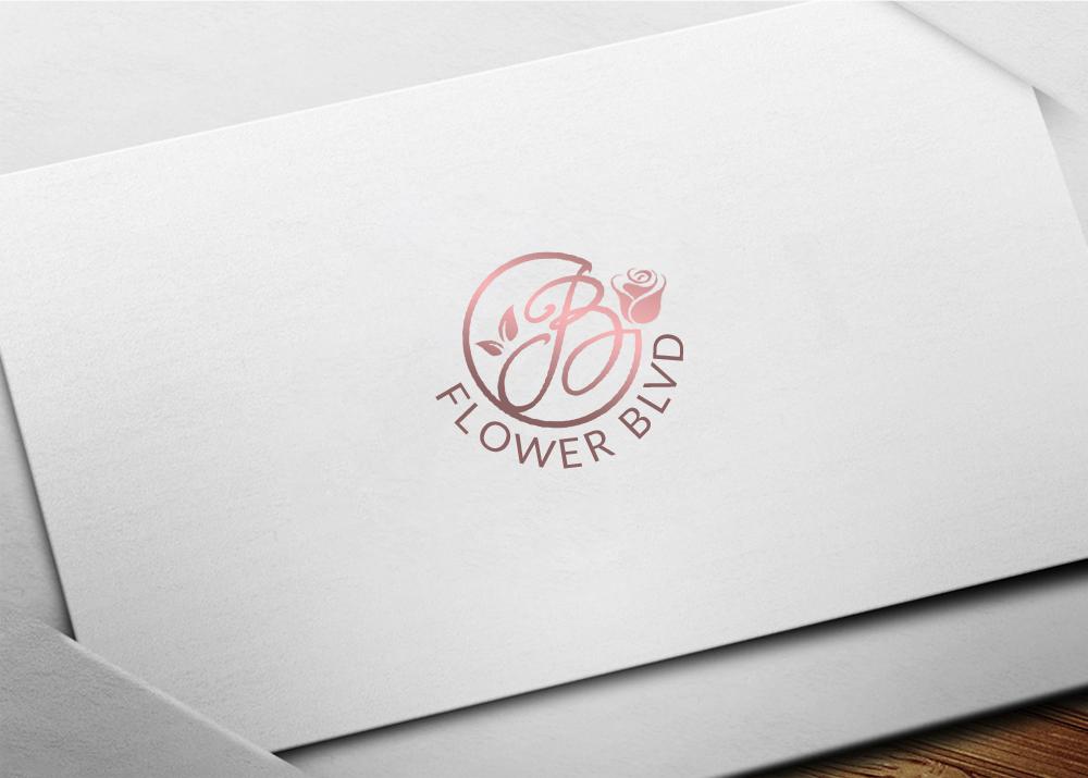 Flower Boulevard Logo Design by D717