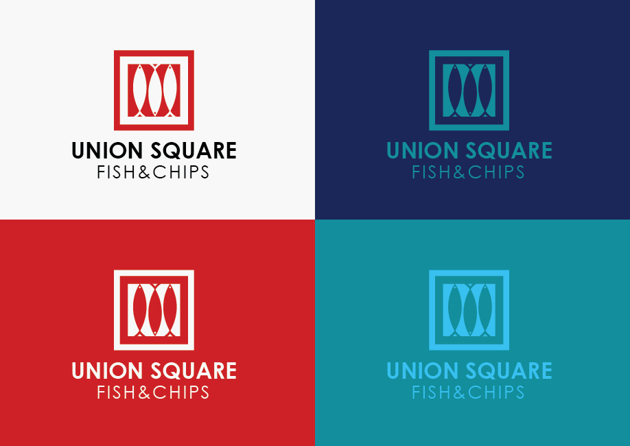 Logo Design for Union Square Fish & Chips by ngahoang1711 | Design