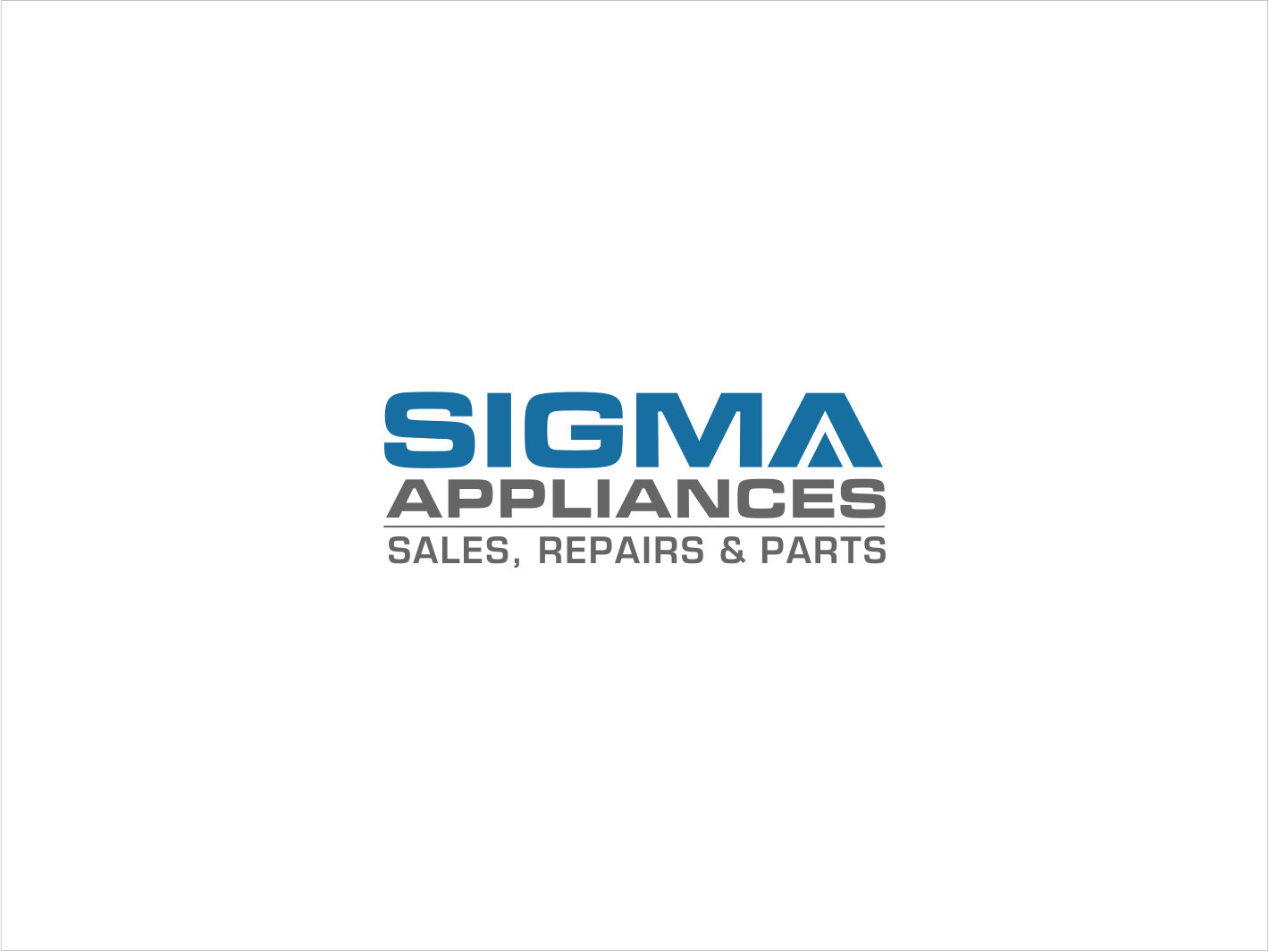 Elegant Traditional Home Appliance Logo Design For Sigma