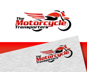 The Motorcycle Transporters | Logo Design by Jay Design