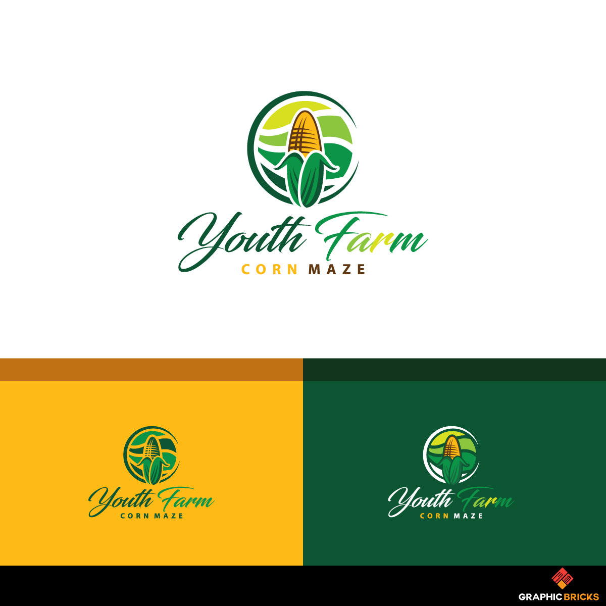 logo design for youth farm corn maze by logo no 1 design 19318196 logo design for youth farm corn maze by