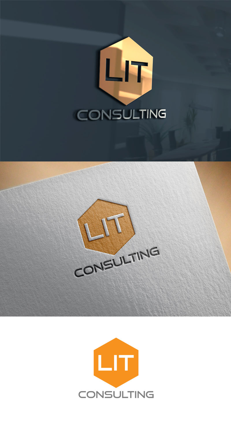 Bold Masculine Engineering Consulting Logo Design For Lit