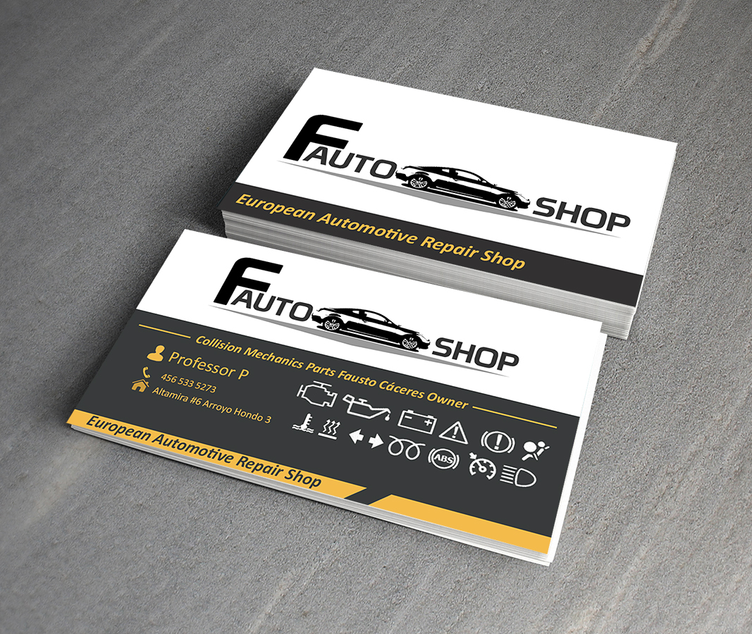Elegant modern automotive business card design for a company by business card design by professor p for this project design 3065082 colourmoves