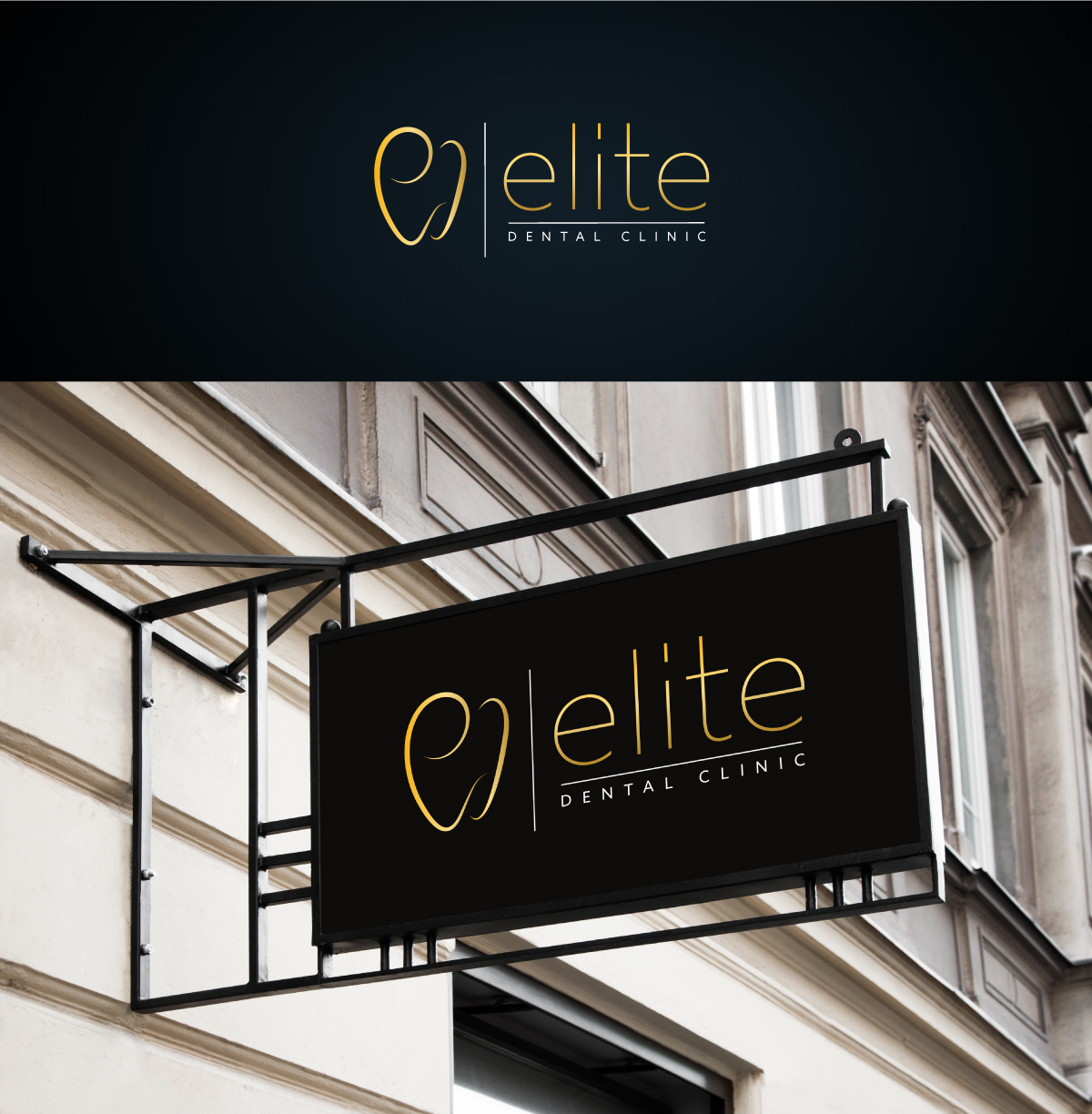 Logo Design for an Elite Dental Clinic by ultramarin