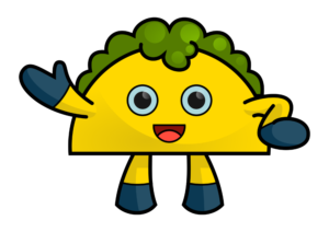 Character Design for a Taco Mascot   Mascot Design by kaiser77
