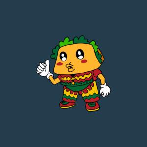 Character Design for a Taco Mascot   Mascot Design by dmoeksa