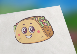 Character Design for a Taco Mascot   Mascot Design by TheLogoHouse