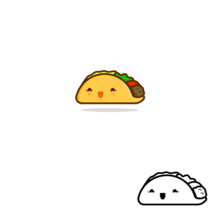 Character Design for a Taco Mascot   Mascot Design by LisaMarieH
