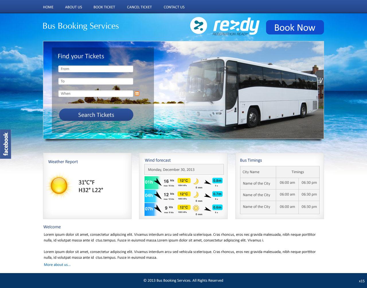 Bold, Playful, Business Web Design for Go Sea Kayak @ Byron