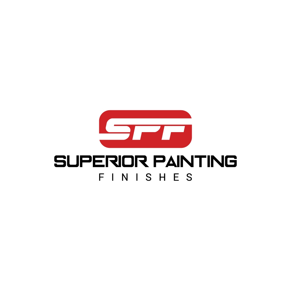 Modern Professional Construction Logo Design For Superior Painting - Superior painting