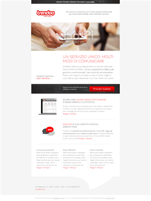 Email Marketing Design by Monica