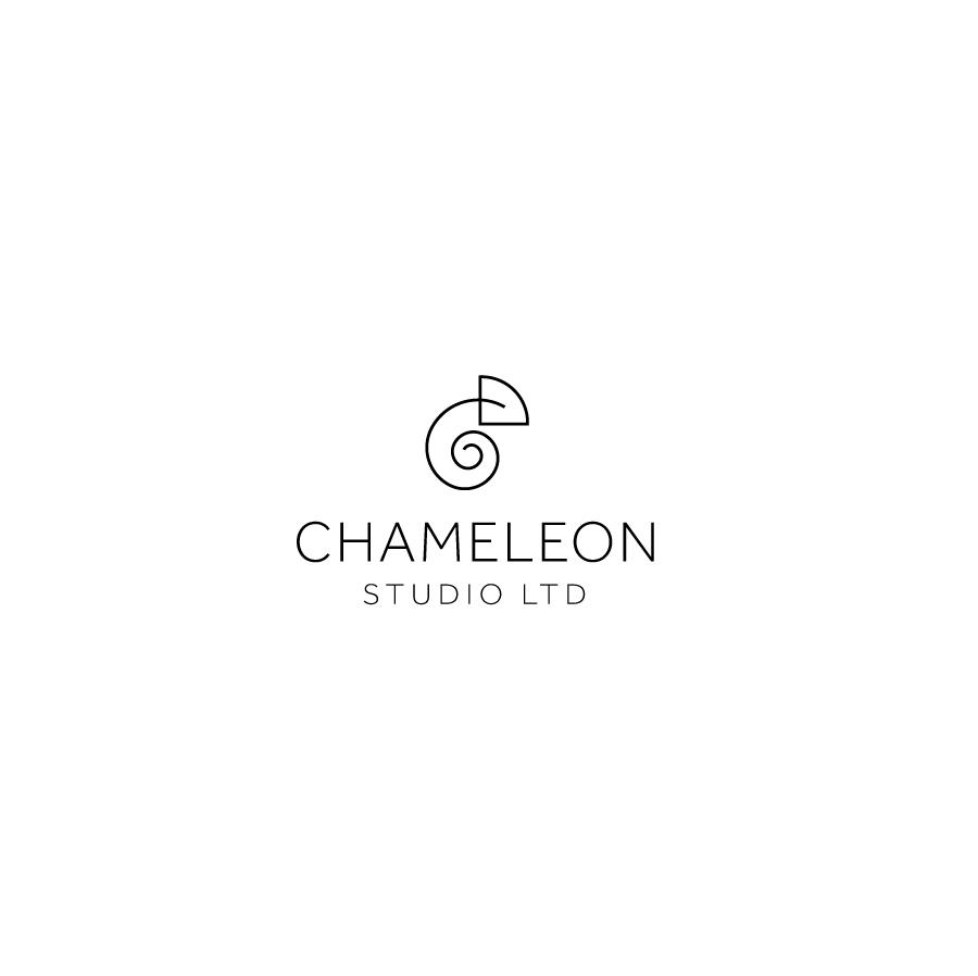 Chameleon logo by MW design studio