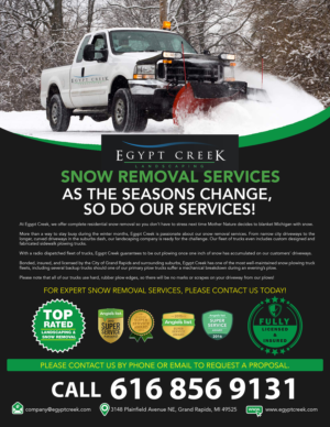 snowplowing flyer 85x11 one sided flyer design by alvinfrancis
