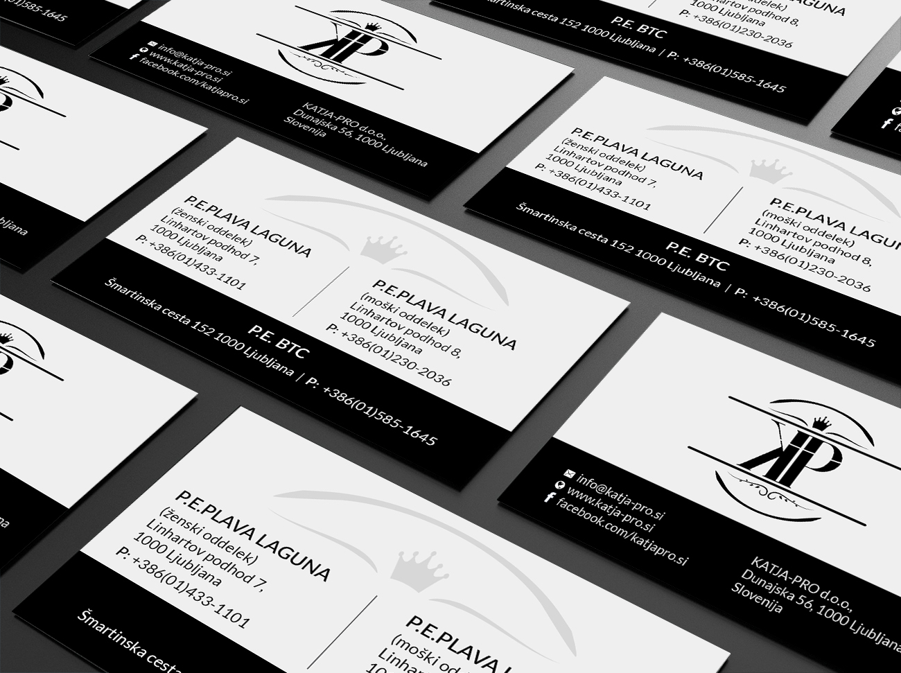 Elegant playful business card design for rv studio sebastijan business card design by creations box 2015 for rv studio sebastijan tembal reheart Choice Image
