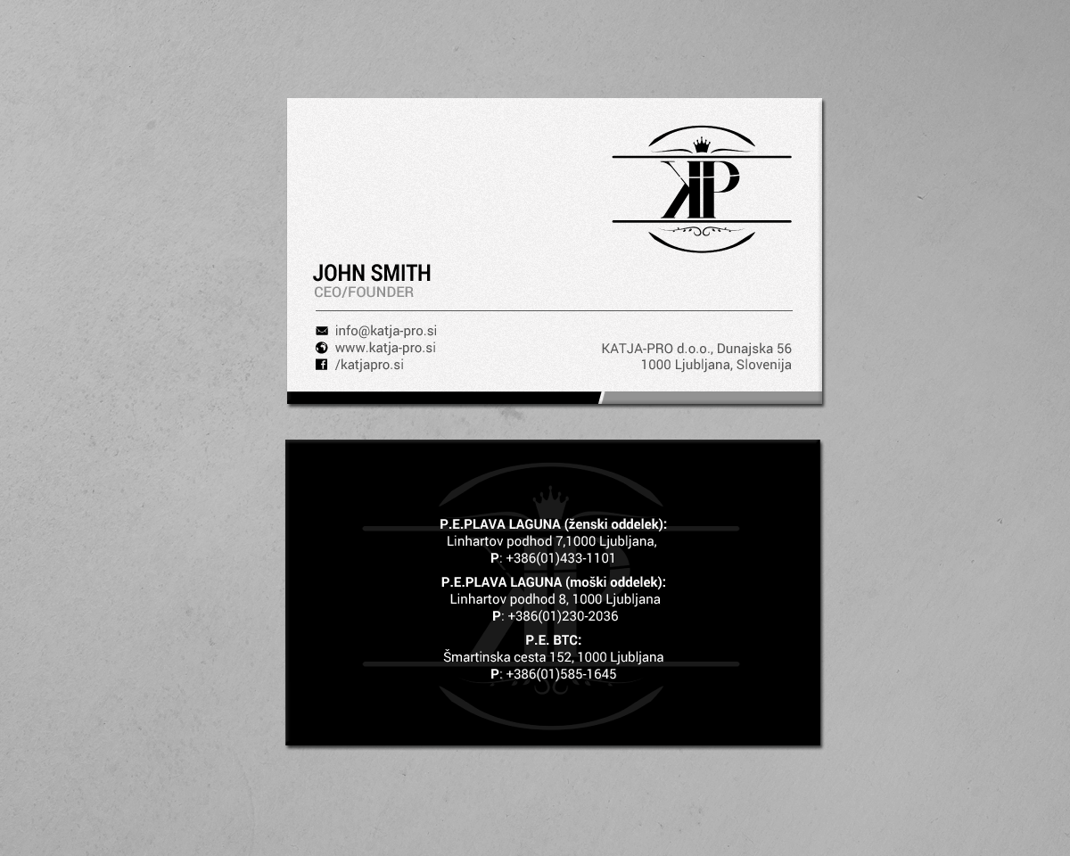 Elegant playful business card design for rv studio sebastijan business card design by chandrayaaneative for rv studio sebastijan tembal reheart Choice Image