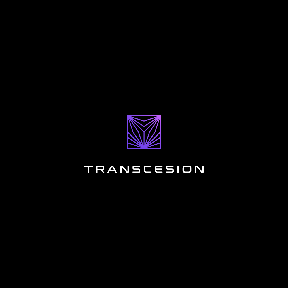 Modern Elegant Software Service Logo Design For Transcesion