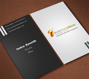 Business Card Design Contest Submission #677023