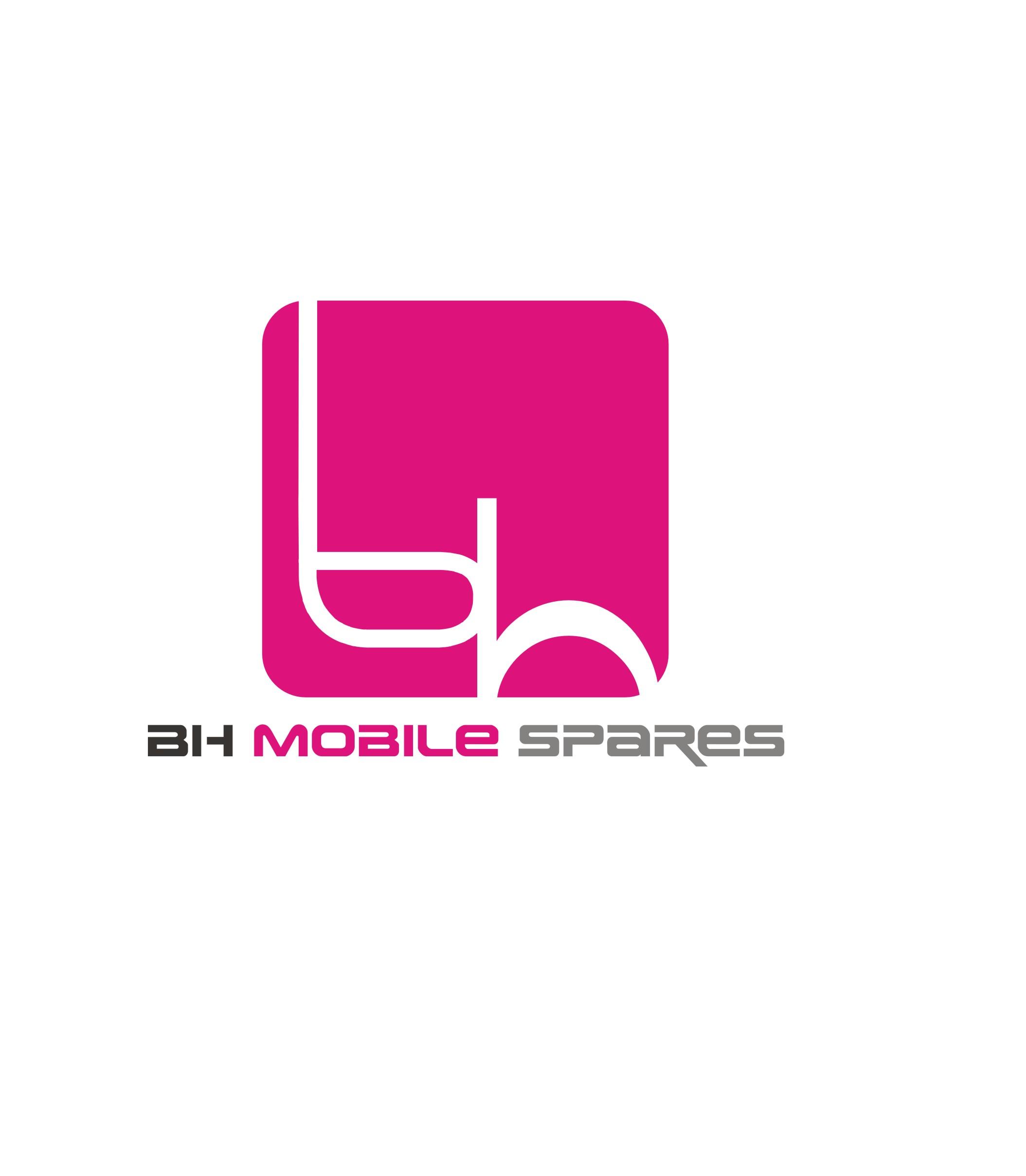 Bh Design modern colorful logo design for bh mobile spares by arpan sarkar