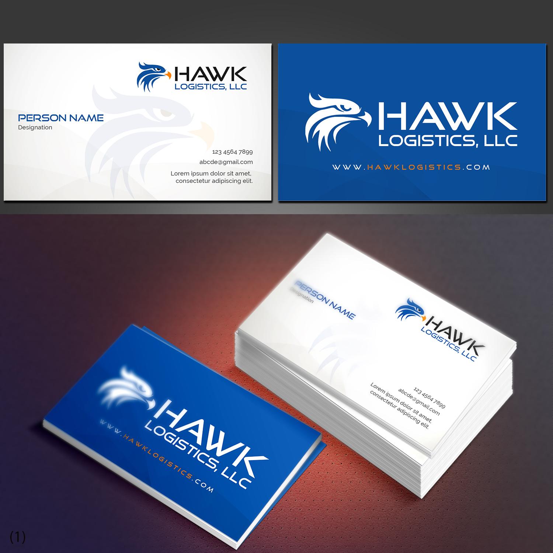 Professional, Upmarket, Trucking Company Business Card