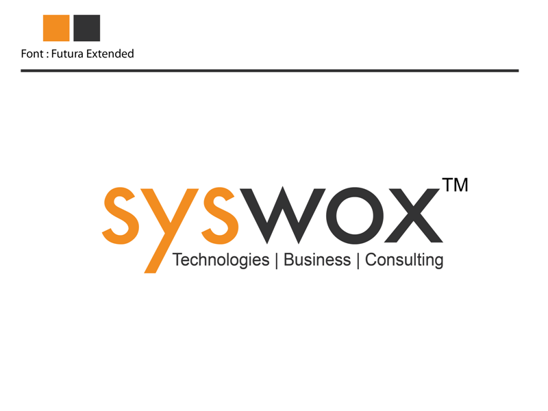 Professional, Elegant, Software Logo Design for syswox by