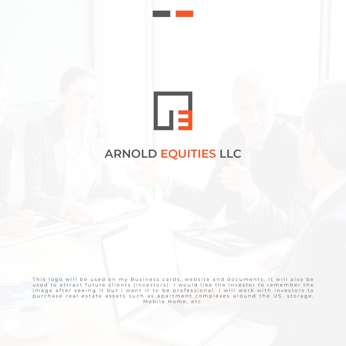 Professional, Serious, Investment Logo Design for Arnold Equities