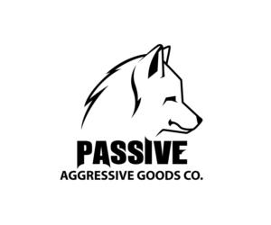 Passive Aggressive Goods Co. | Logo Design by Jay Design