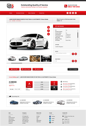 Web Design by Unity Design Studios - Website General Reskin