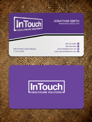 Healthcare business card design galleries for inspiration healthcare it firm needs classy and unique business care design business card design by sandaruwan colourmoves