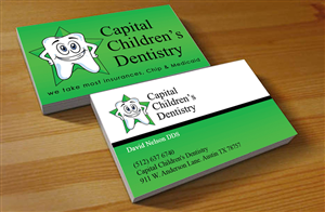 25 Playful Colorful Dental Business Card Designs for a Dental ...