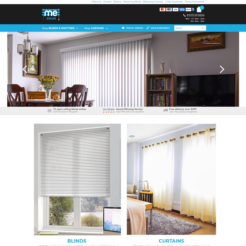 Elegant Modern Home Improvement Web Design For A Company