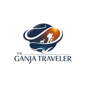The Ganja Traveler | Logo Design by south door