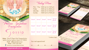 21 Elegant Business Card Designs Salon Business Card Design