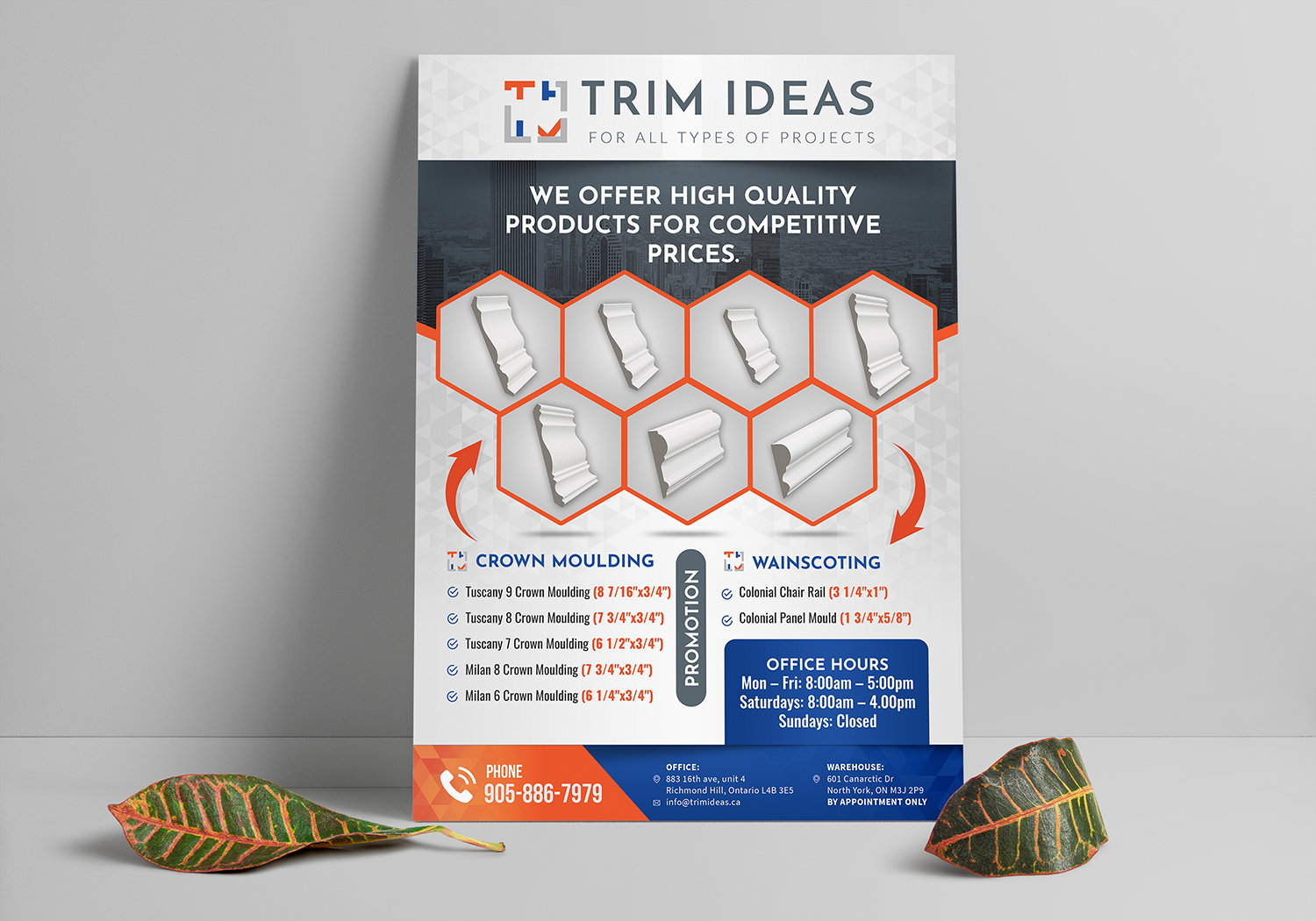Trim Ideas one page flyer | 44 Flyer Designs for a business ...