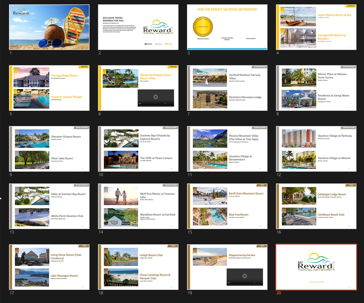 professional modern powerpoint design for a company by janux