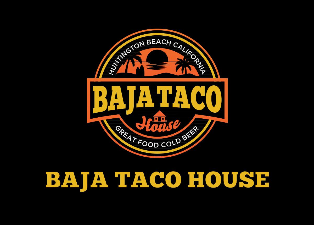 Baja Taco House Logo Design by Alleria.Designz