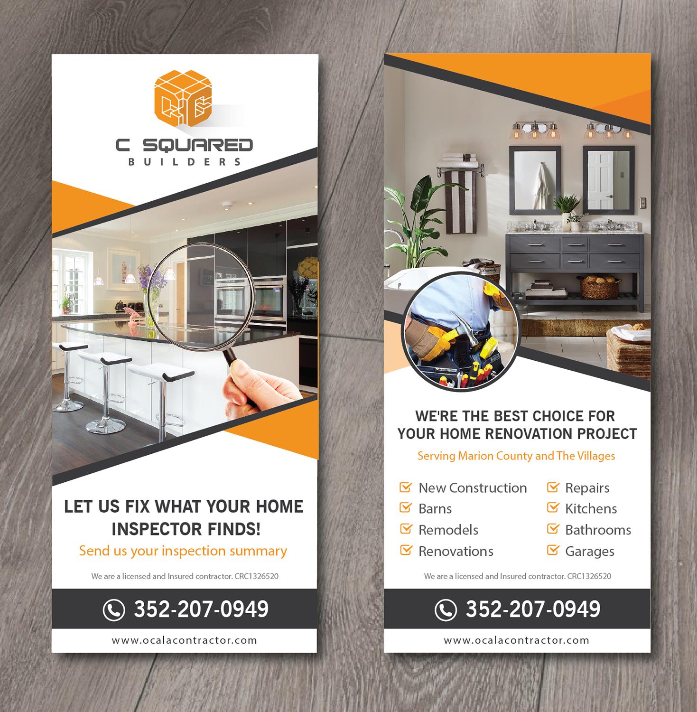 Upmarket Modern Construction Flyer Design For Usa Home