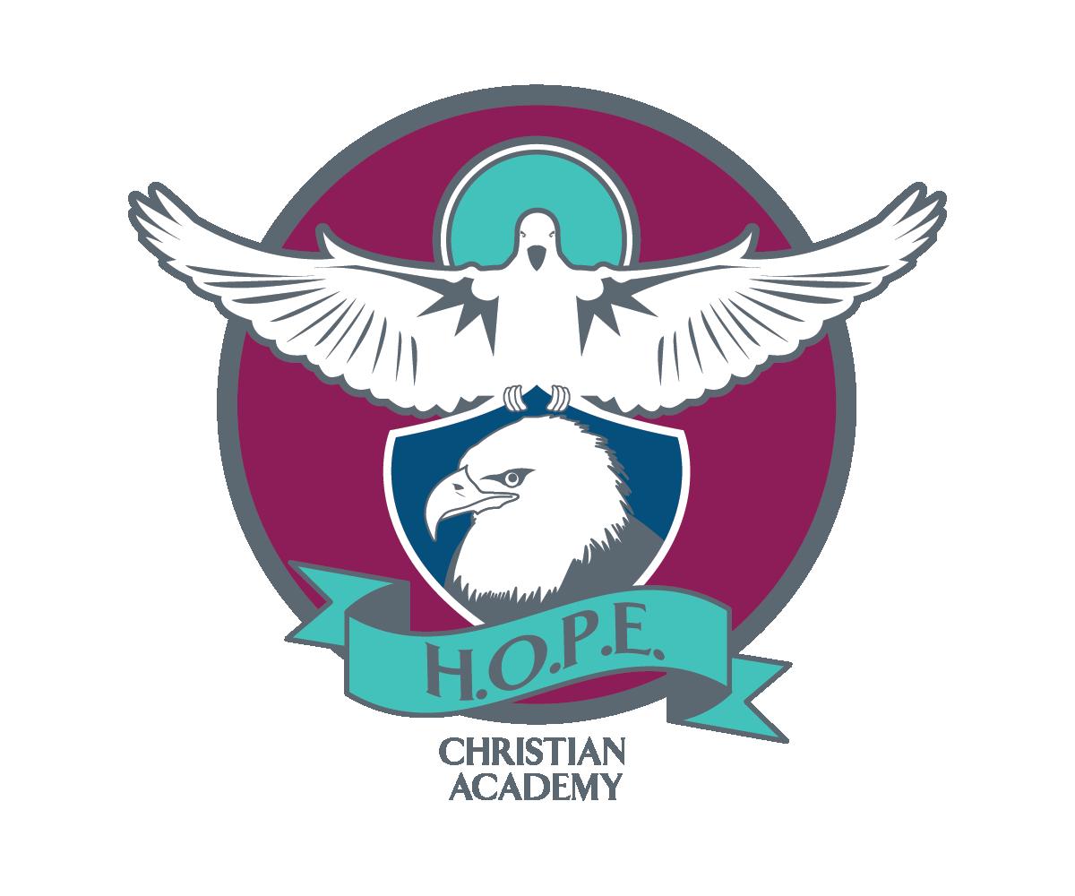 Logo Design For Hope Christian Academy By Daniel Brazealand Design